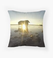 Rest in Peace Our Max Throw Pillow