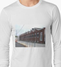 The Old Guild Guitar Factory Westerly, Rhode Island Long Sleeve T-Shirt