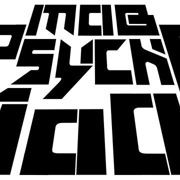 Mob Psycho 100 Logo [English] by BoringSoda