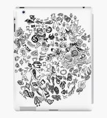 Doodle Mashup iPad Case/Skin