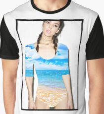 lush / beach Graphic T-Shirt