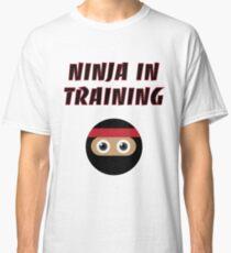 Ninja in Training Classic T-Shirt