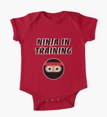 Ninja in Training One Piece - Short Sleeve