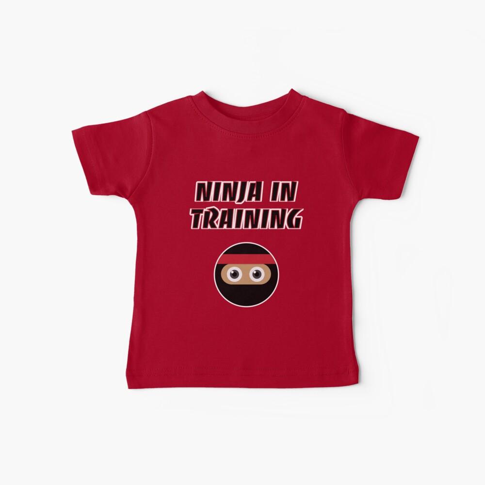 Ninja in Training Baby T-Shirt