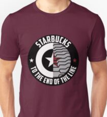 Stucky: Starbucks Parody Logo T-Shirt