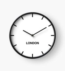 Reloj Reloj de pared London City Zone Newsroom