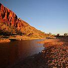 Morning Light Glen Helen Gorge by Deirdreb