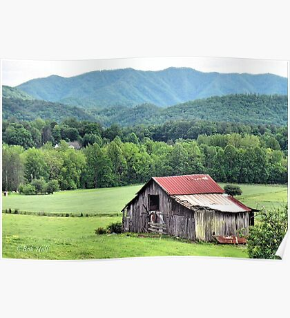 """""""Down in the Valley """"... prints and products Poster"""