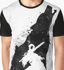 Abyss Warrior VERSION BLACK Graphic T-Shirt