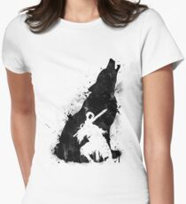 Abyss Warrior VERSION BLACK Women's Fitted T-Shirt