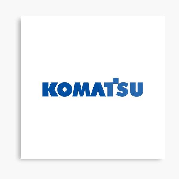 BEST SELLER - Komatsu Merchandise Metal Print