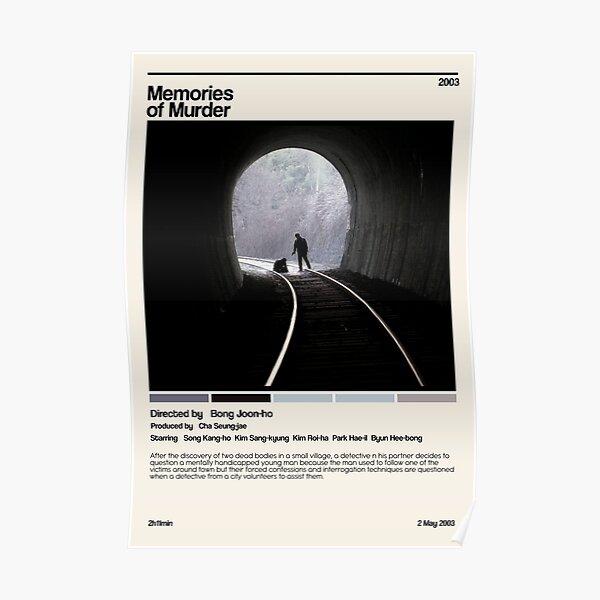memories of murder (2003) minimalist movie Poster