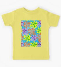 Floral Delight by Hamlet Pericles Kids Tee