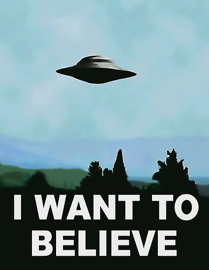 I want to believe, x-files poster by sexyjustsexy