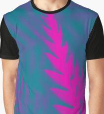 Nature Pattern # 2 - Fern (Blue Pink) Graphic T-Shirt