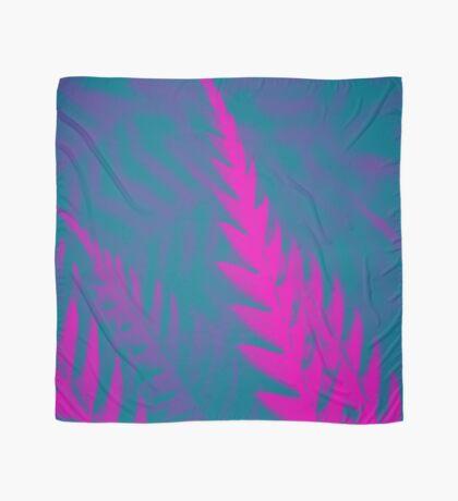 Nature Pattern # 2 - Fern (Blue Pink) Scarf