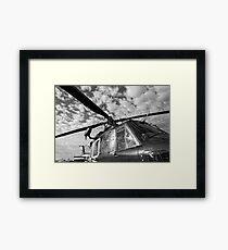 Chopper Framed Print