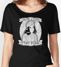 Stay Punk Women's Relaxed Fit T-Shirt