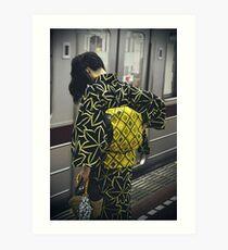 Commuting Tokyo Style Art Print