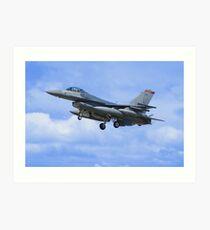 F16 Falcon Art Print