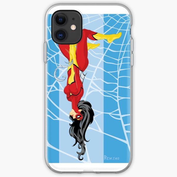 Spider Woman iPhone Soft Case