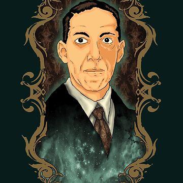 Hp Lovecraft by nikolking