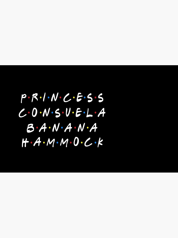 PRINCESS CONSUELA BANANA HAMMOCK by funkythings