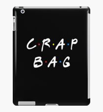 CRAP BAG iPad Case/Skin