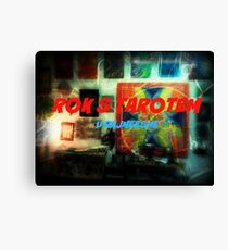 Rok s tarotem / A year with tarot Canvas Print