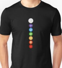 The 7 Chakras Unisex T-Shirt