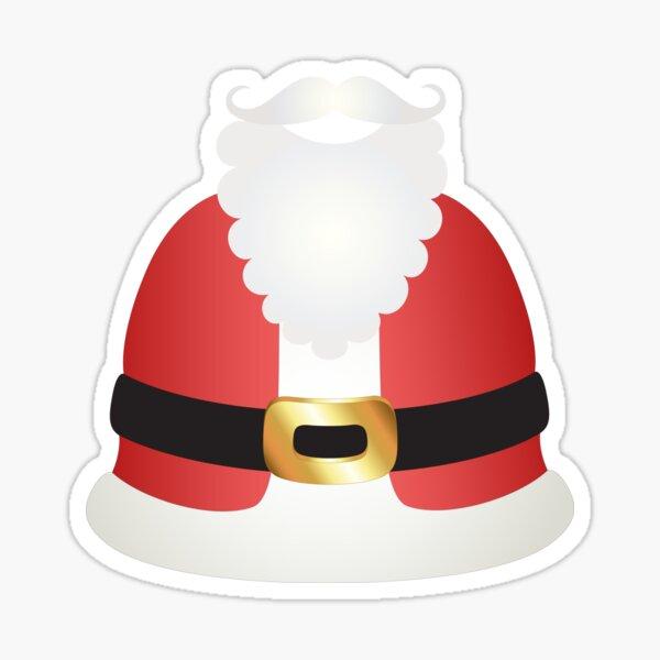 Santa Claus Suit Sticker