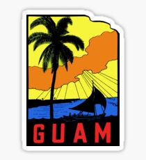Guam Vintage Travel Decal Sticker
