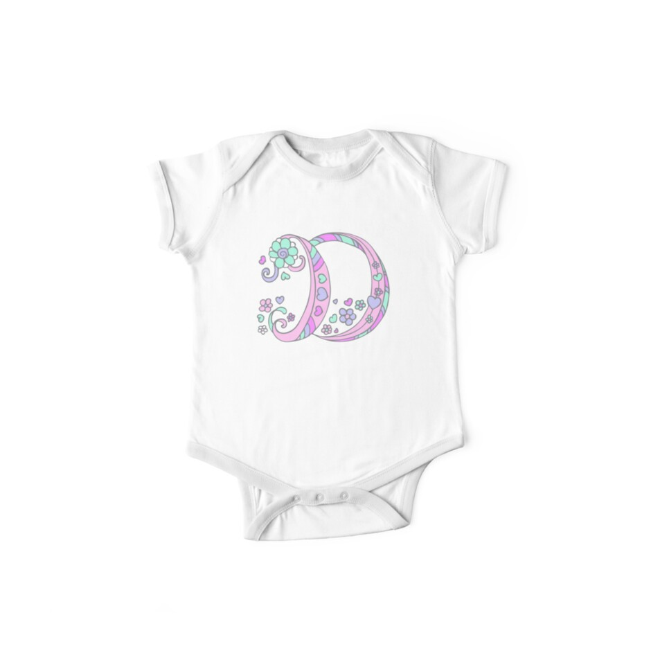 eb14b5f11 The letter D name monogram initial