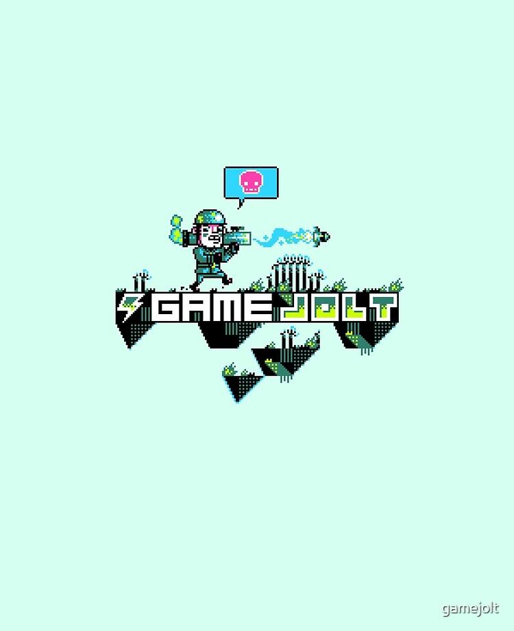 Major Jolt Game Jolt Logo Ipad Case Skin