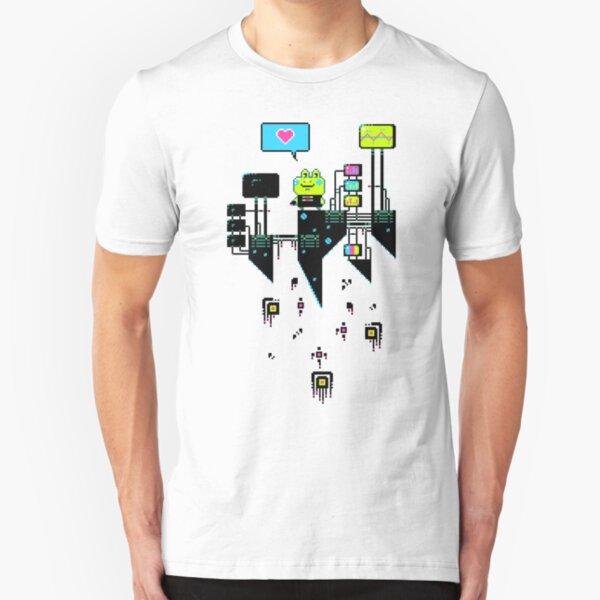 Kikkerstein - Statistical Pixel Genius Slim Fit T-Shirt