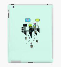 Kikkerstein - Statistical Pixel Genius iPad Case/Skin