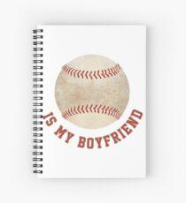 Baseball is My Boyfriend Spiral Notebook