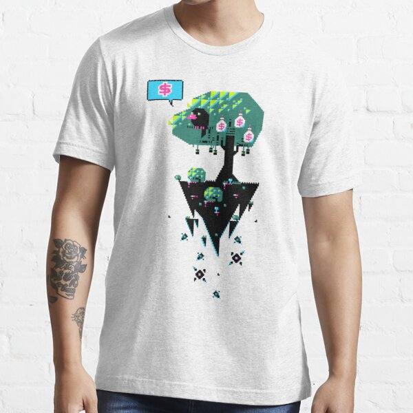Greedy Grackle - Money Collector Essential T-Shirt