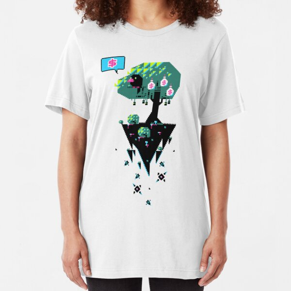 Greedy Grackle - Money Collector Slim Fit T-Shirt