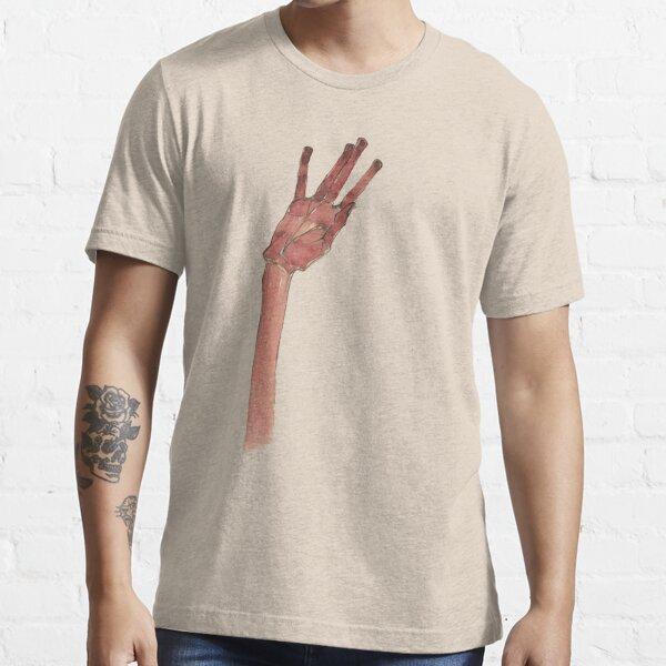 Schiele Hand (Transparent) Essential T-Shirt