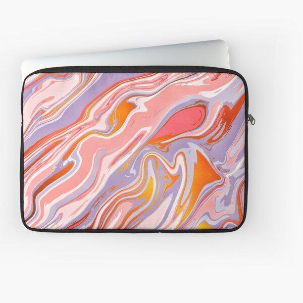 Liquid marble texture  Laptop Sleeve