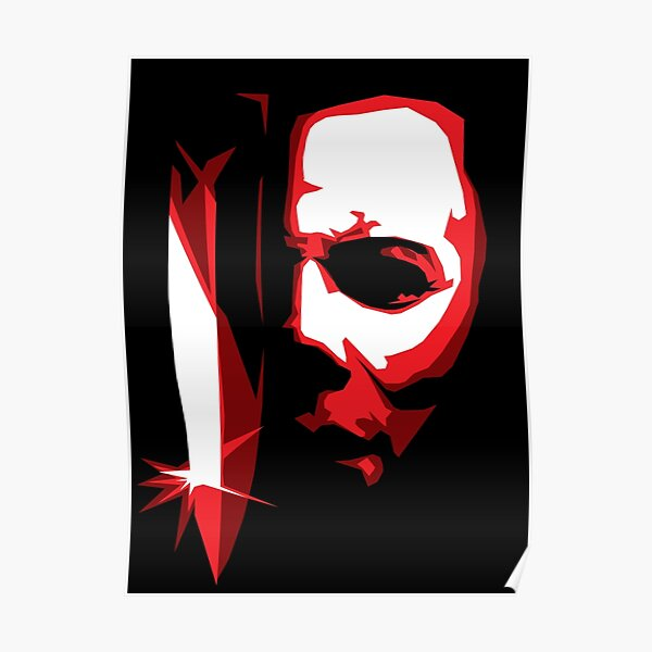 Michael Meyers Vector Art Poster