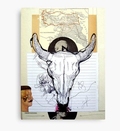 OFRENDA AL MAR NEGRO (offering to the black sea) Canvas Print