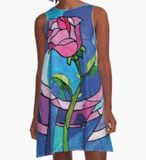 The rose A-Line Dress