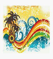 Island Rainbow Photographic Print