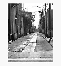 Rural Small Town Alley Photographic Print