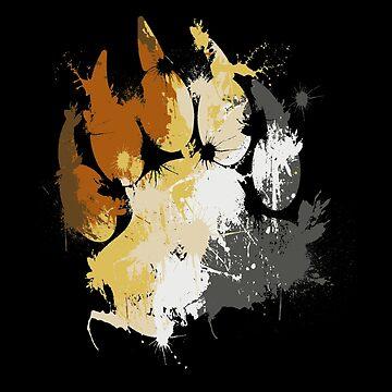 Care Bears Bear Paw Pride Fozzie T-shirts by gourleyolga