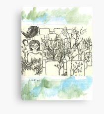 Dating Canvas Print