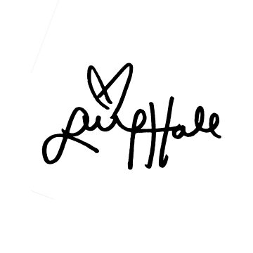 Lucy Hale Autograph by Mxrloes
