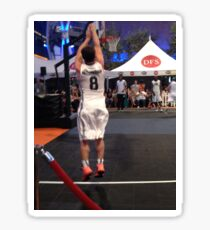 JHutch jump shot Sticker